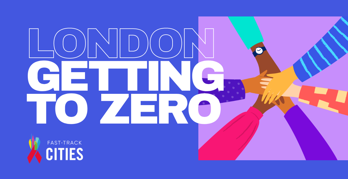 London getting to zero banner